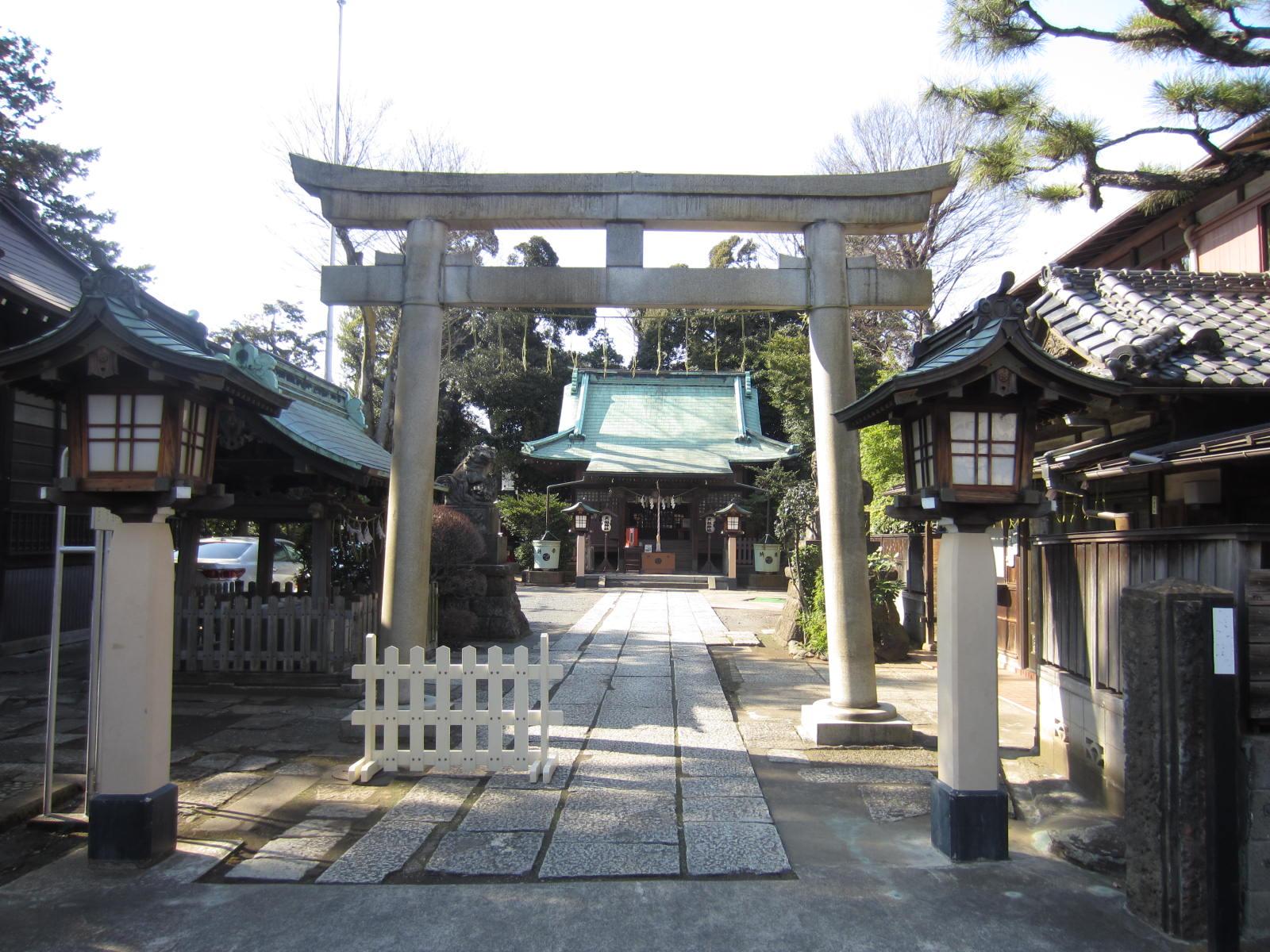 氏神様の天祖神社に行ってきました