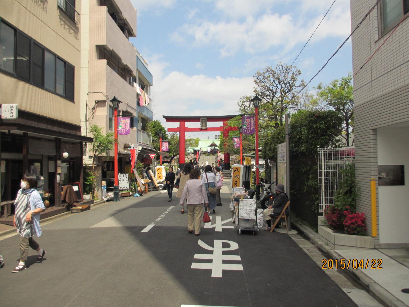 亀戸天神社に行ってきました